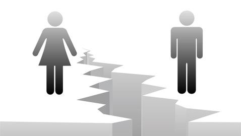 Reduction in retirement gender gap