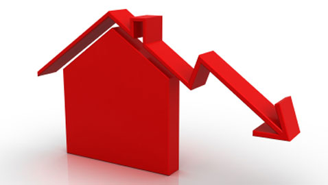 June fall in house prices