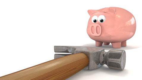 Fall in spending power