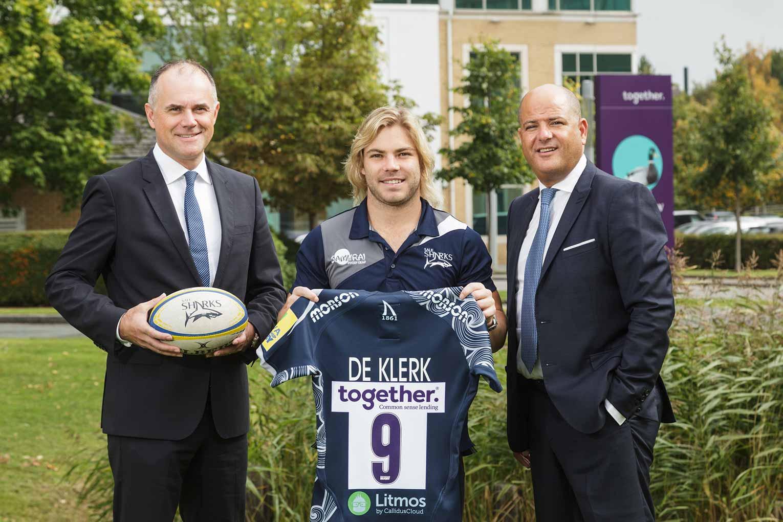 Together sponsors Faf de Klerk