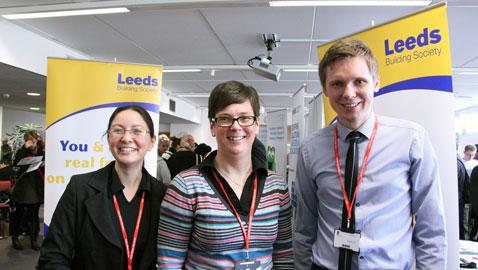 Leeds Building Society staff