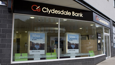 Clydesdale-Bank-Branch