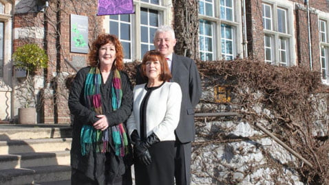 (L-R) Bronwen Hewitt, Rosalie James and Michael Plant of Ros James & Co