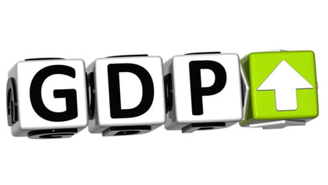 rise in GDP